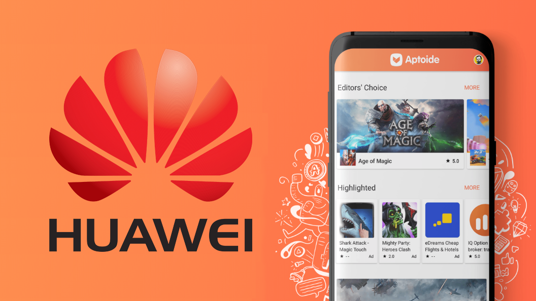 Huawei is Working with Aptoide to Replace the Google Play Store